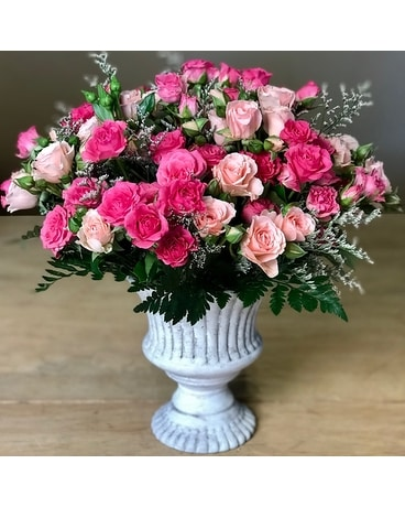 Petite in Pink Flower Arrangement