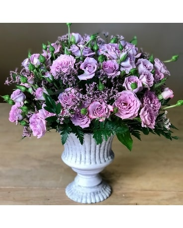 Petite in Lavender Flower Arrangement
