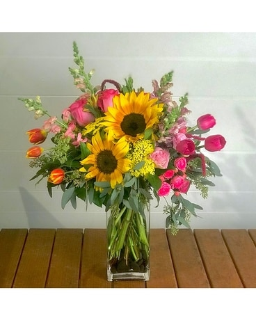 Sunburst Flower Arrangement