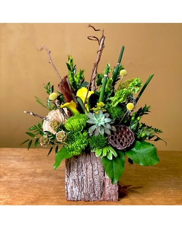 Into the Woods Flower Arrangement