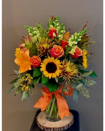 Fabulous Fall Premium Flower Arrangement