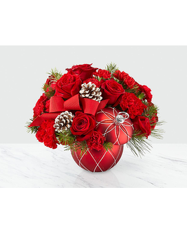 Making Spirits Bright FTD Flower Arrangement