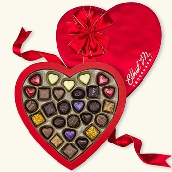 Large Heart Box Chocolate