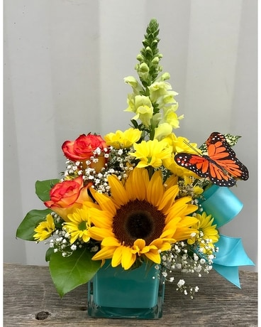 Autumn Twist Flower Arrangement