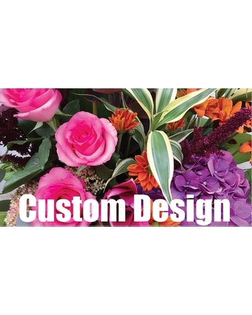 Custom Design - Seasonal colors Flower Arrangement