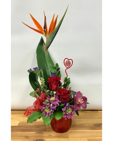 Love struck Flower Arrangement