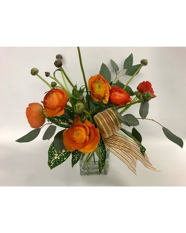 Ranunculus Flower Arrangement