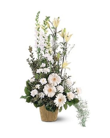 White Impressions Flower Arrangement