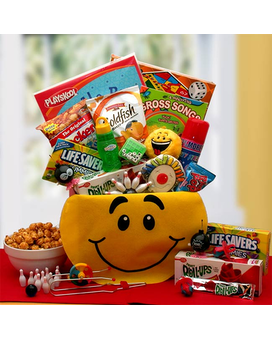A Smile Today Gift Basket
