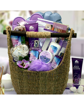Lavender Sky Ultimate Bath & Body Gift Basket