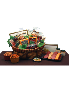 Savory Favorites Meat & Cheese Gift Basket