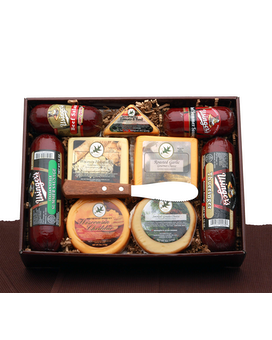 Signature Reserve Meat & Cheese Gift Box Gift Basket