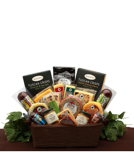 Ultimate Meat & Cheese Sampler Gift Basket