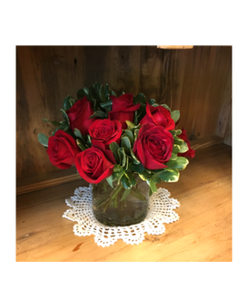 Red Roses Arranged Flower Arrangement