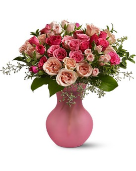 Princess Roses Flower Arrangement