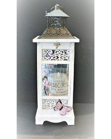 LANTERN WITH MEMORIAL CANDLE Custom product