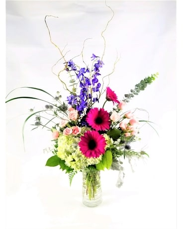 Bleu Flower Arrangement