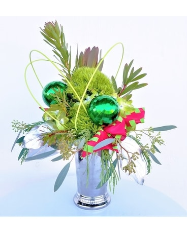 The Grinch Flower Arrangement