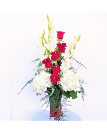 Rose Diamond Flower Arrangement