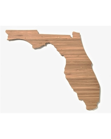 Florida Cutting Board by Southern Social Market Custom product