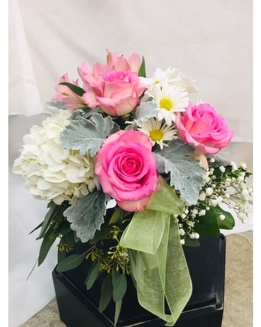 Elegant Lady Flower Arrangement