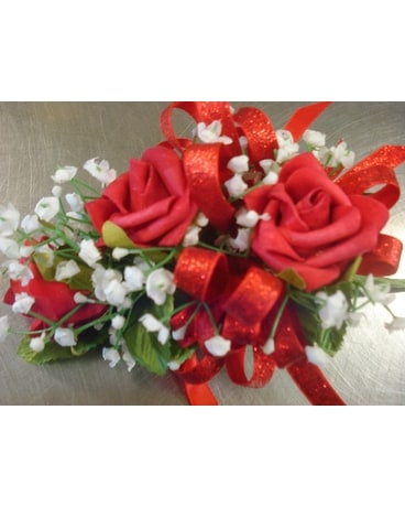 Dream Rose - Red Wrist Corsage Corsage