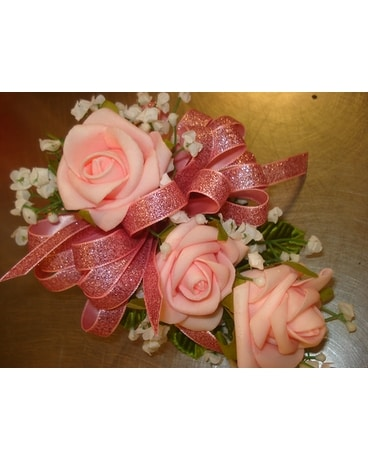 Dream Rose - Pink Wrist Corsage Corsage