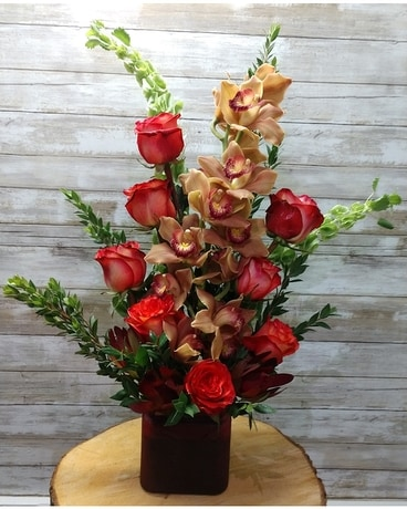 Cymbidium Love Flower Arrangement