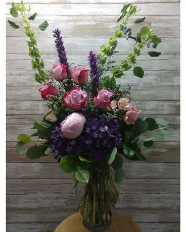 Pop O' Purple Flower Arrangement