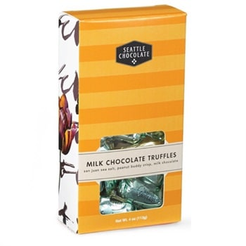 MILK CHOCOLATE TRUFFLE BOX