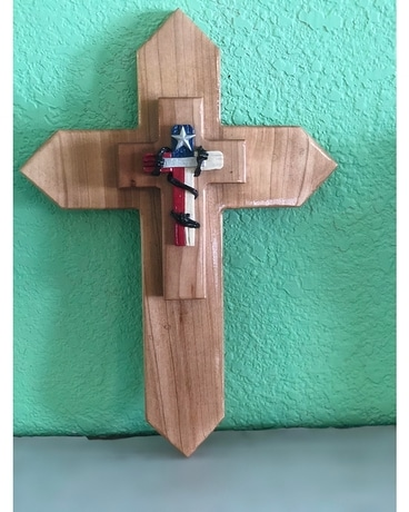 Wooden Texas Cross Gifts
