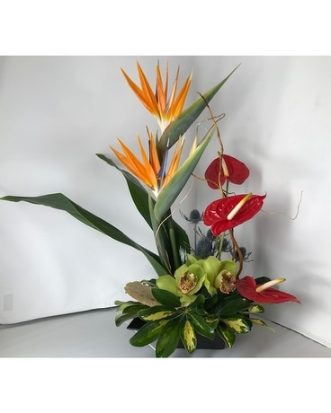 Love that Tropical Flower Arrangement