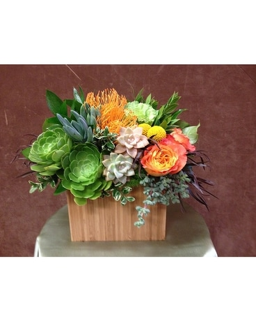 Succulents & Florals Flower Arrangement