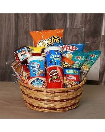 SNACK TIME BASKET Gift Basket