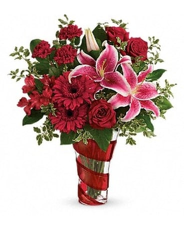 Teleflora's Swirling Desire Bouquet Custom product