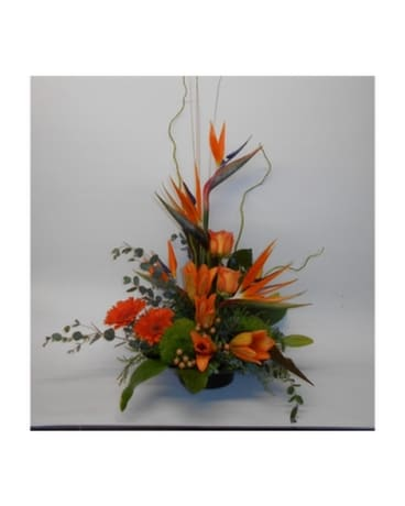 Exotic Elegance Flower Arrangement