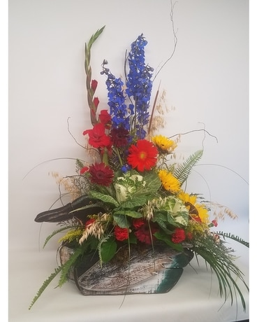 Sportsman's Paradise Flower Arrangement