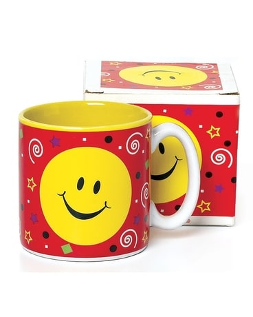 mug party smiley face Gifts