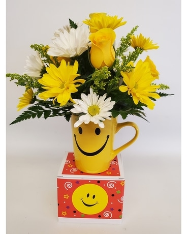 Be Happy Flower Arrangement