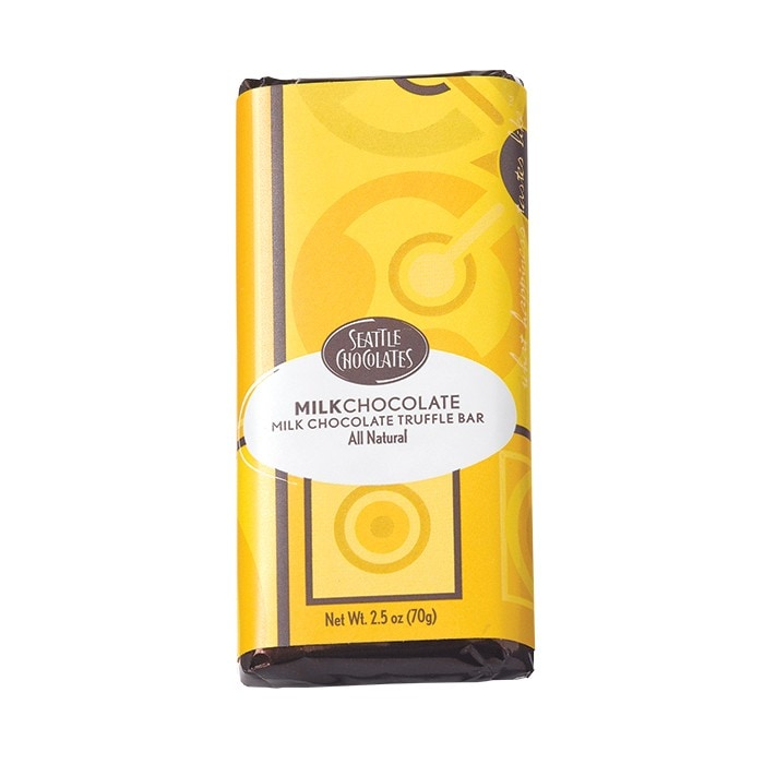 2.5oz Seattle Chocolate Truffle Bars