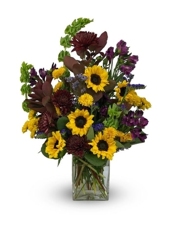 All About Autumn Flower Arrangement