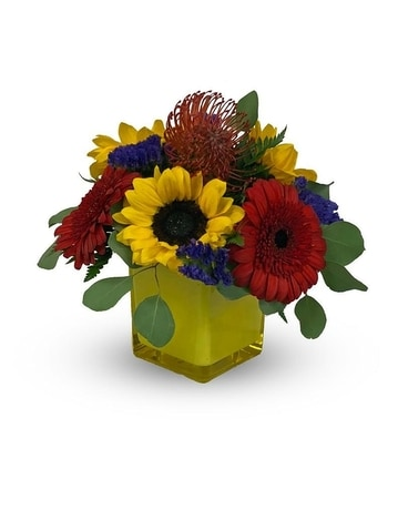Sunshine Daydreams Flower Arrangement