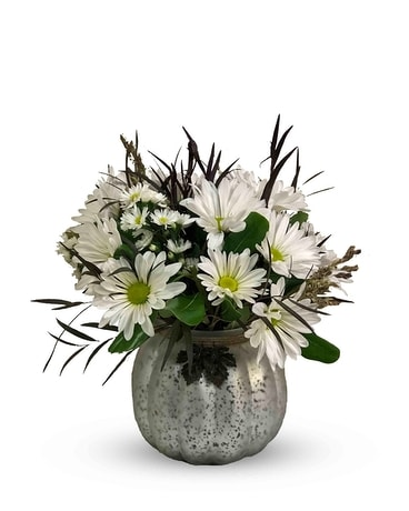 Crisp Autumn Flower Arrangement