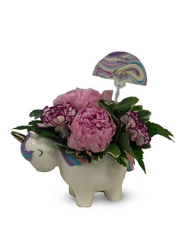 Pretty  Little Unicorn Flower Arrangement