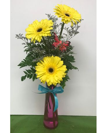 A Ray of Sunshine Flower Arrangement