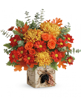 Wild Autumn Bouquet Flower Arrangement