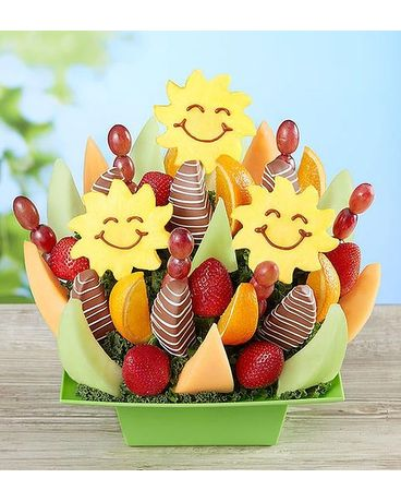 Sunny Day Fruit Bouquet Flower Arrangement
