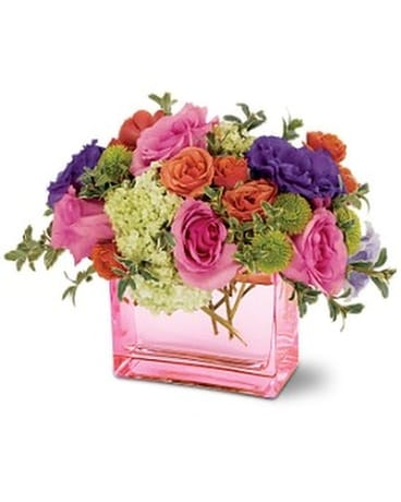 Teleflora's Strawberry Fields Bouquet Flower Arrangement