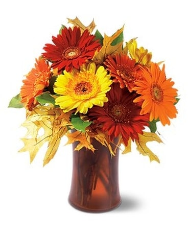 Autumn Gerberas Flower Arrangement