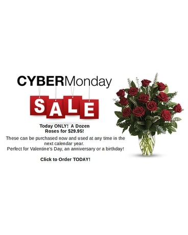 Cyber Monday Rose Special